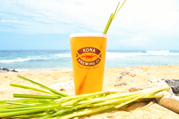 Kona Brewing Company Lemongrass Luau