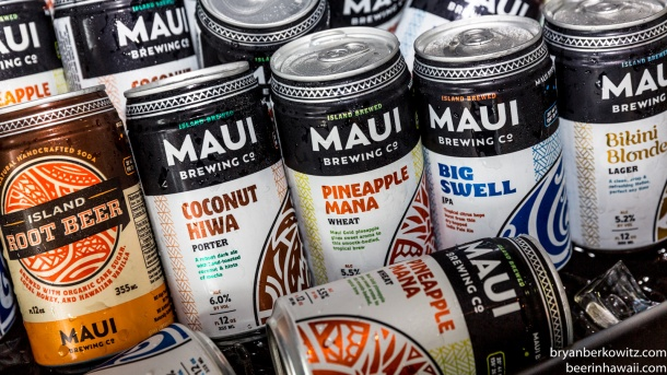 Maui Brewing Company New Can Designs