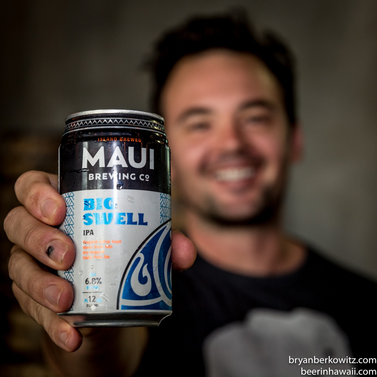 Maui Brewing Company New Can Designs Big Swell IPA