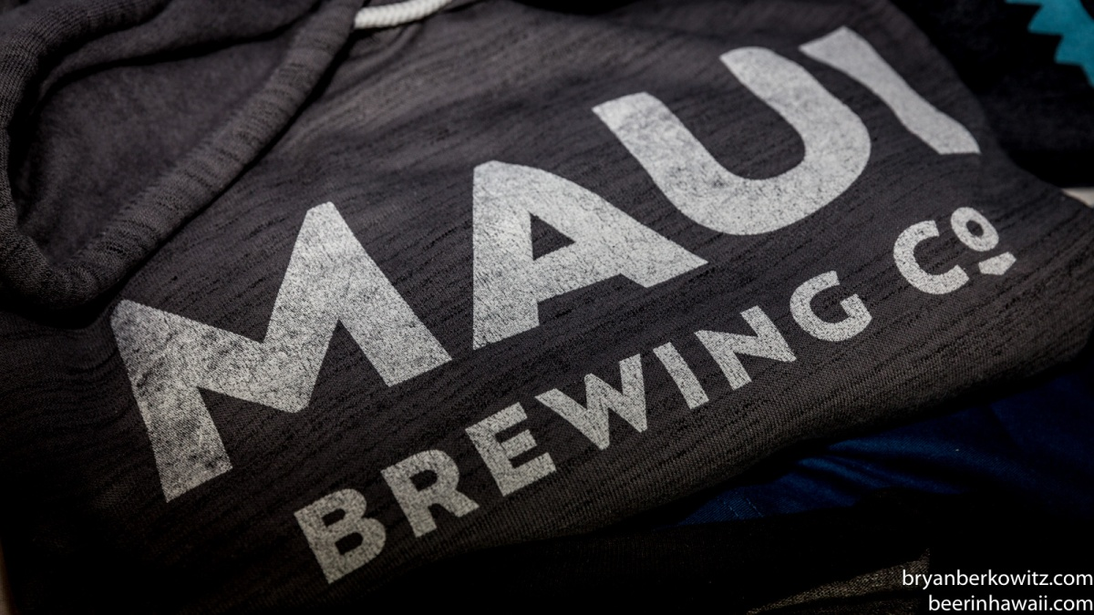 Maui Brewing Company New Logo wear shirt