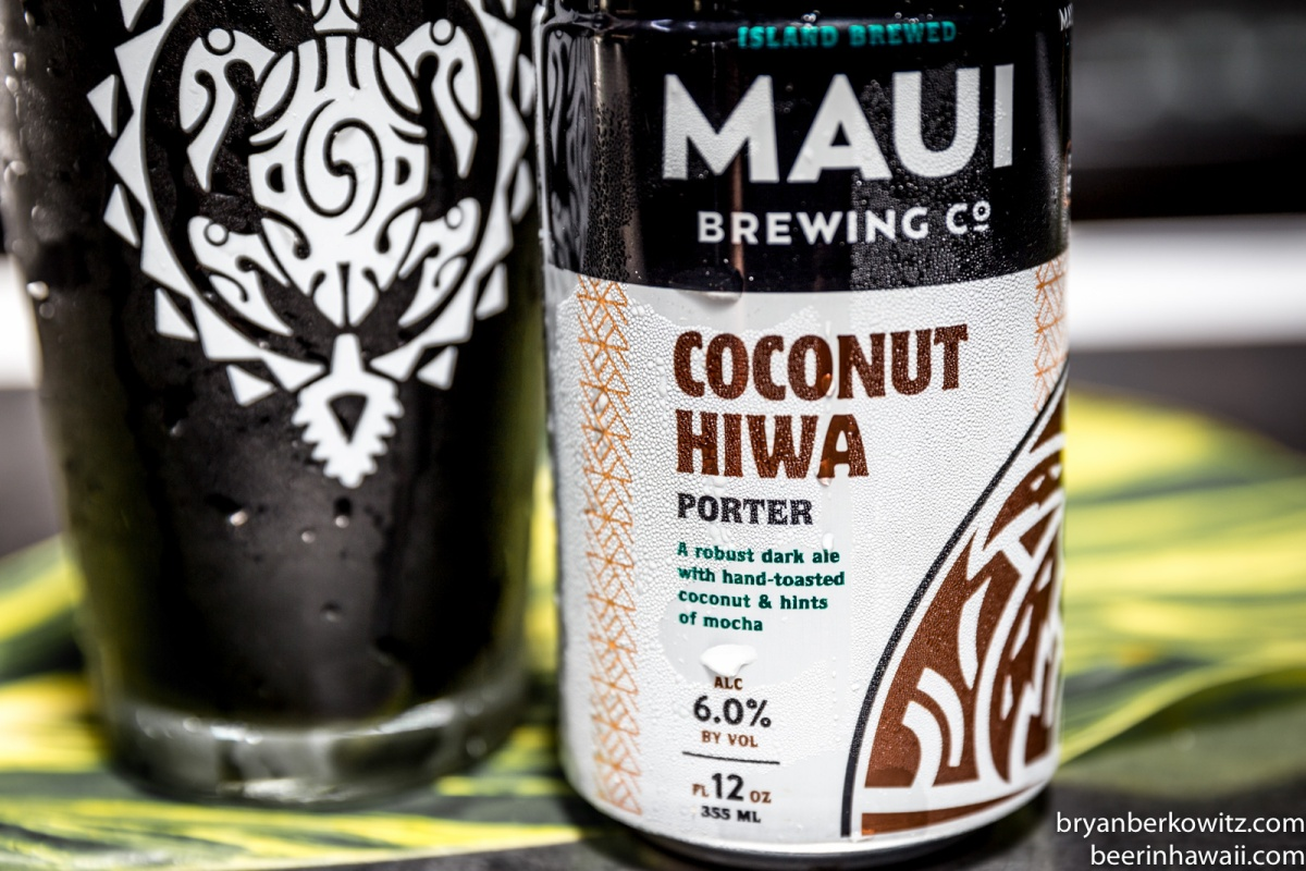Maui Brewing Company Coconut Hiwa Porter New Can