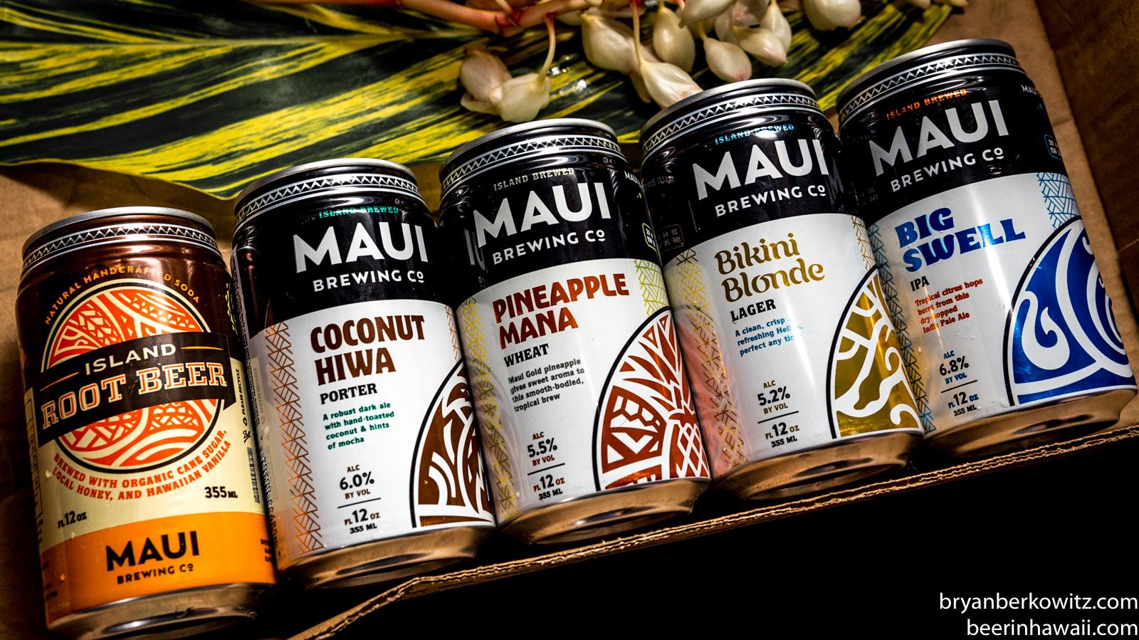 Maui Brewing Company Hawaii Metal Tin Beer Bar Sign BIG SWELL IPA New Design!