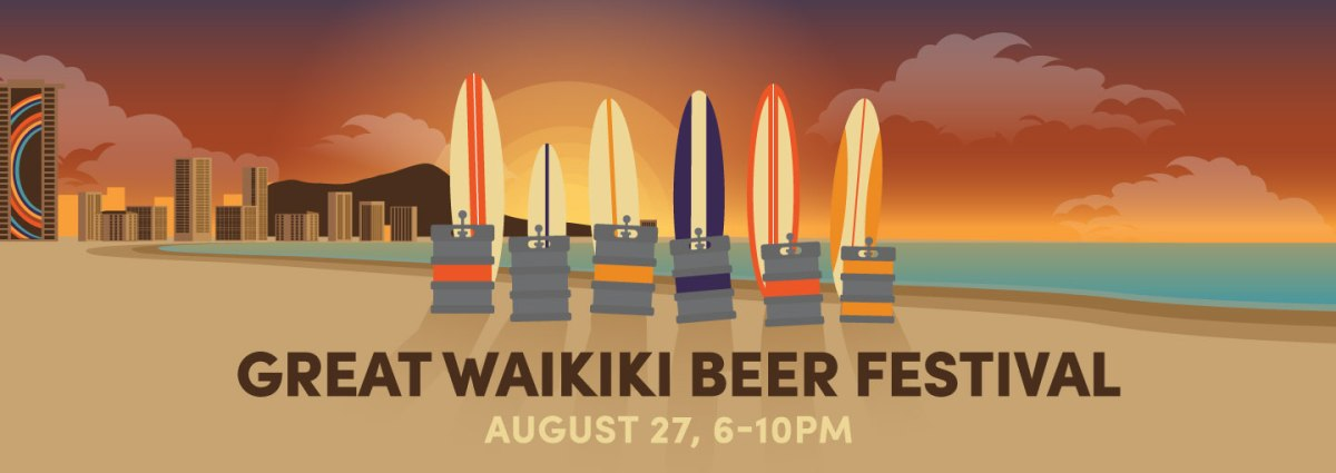 2016 Great Waikiki Beer Festival Beer List