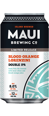 Maui Brewing Co Lorenzini Blood Orange DIPA Can