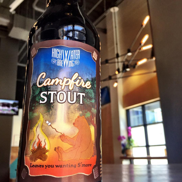 Highwater Brewing Campfire Stout Honolulu