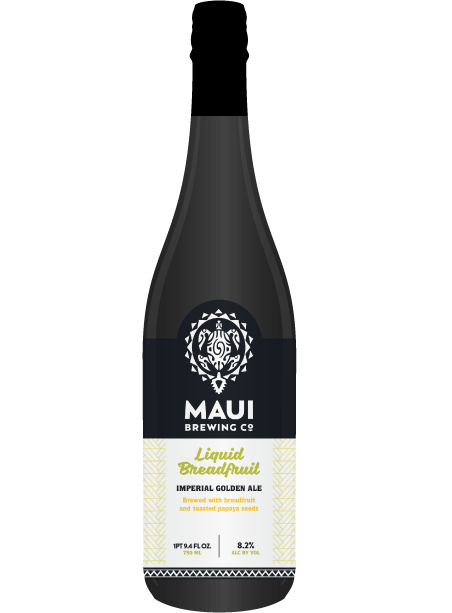 Maui Brewing Company Liquid Breadfruit Bottle
