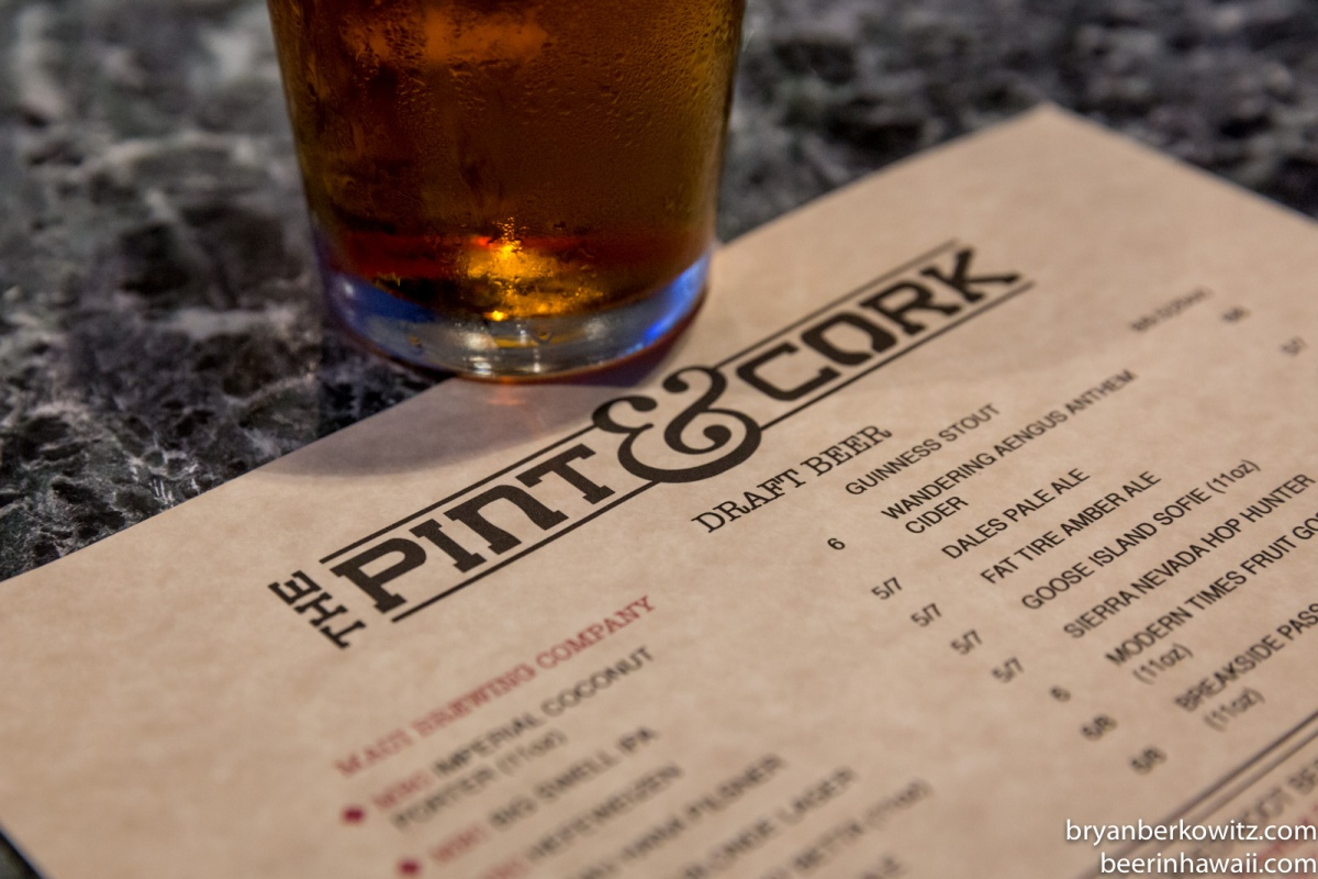 Maui Update - The Pint & Cork Celebrates 1 Year